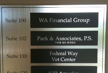 Directory Sign