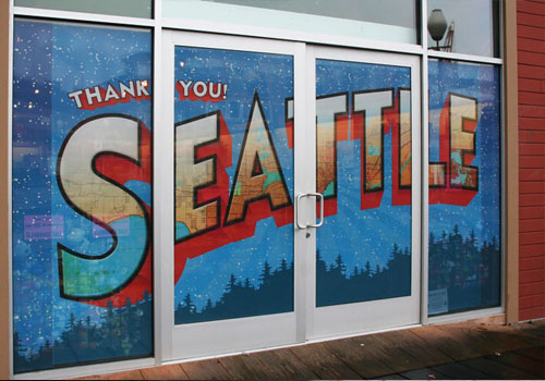 Window Graphics Signs Of Seattle