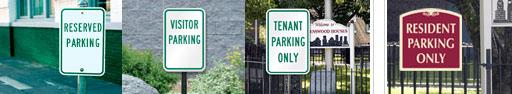Parking Metal Signs