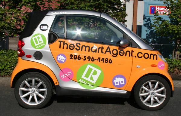Smart Car Seattle: Smart Car Lettering Decals