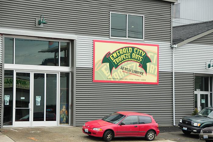 Outdoor Metal Building Signs Garage Organization Ideas