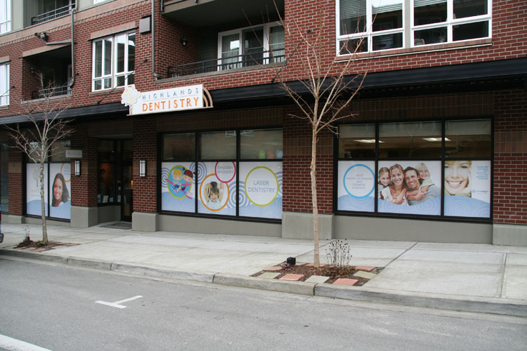 Perforated Window Graphics Signs Of Seattle