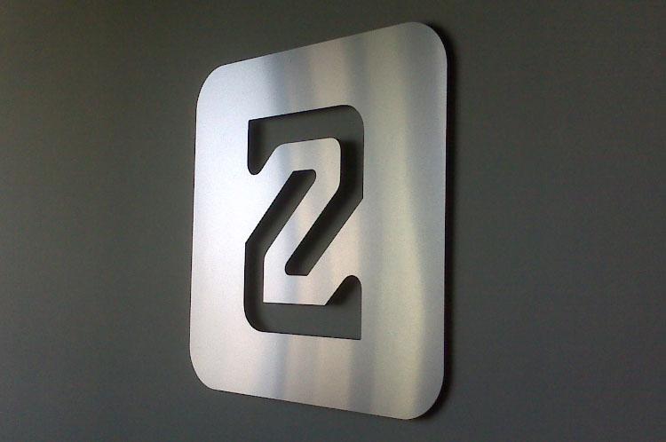 Brushed Metal Logo