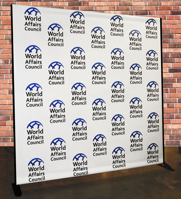Step Amp Repeat Banners Signs Of Seattle Quick Turnaround