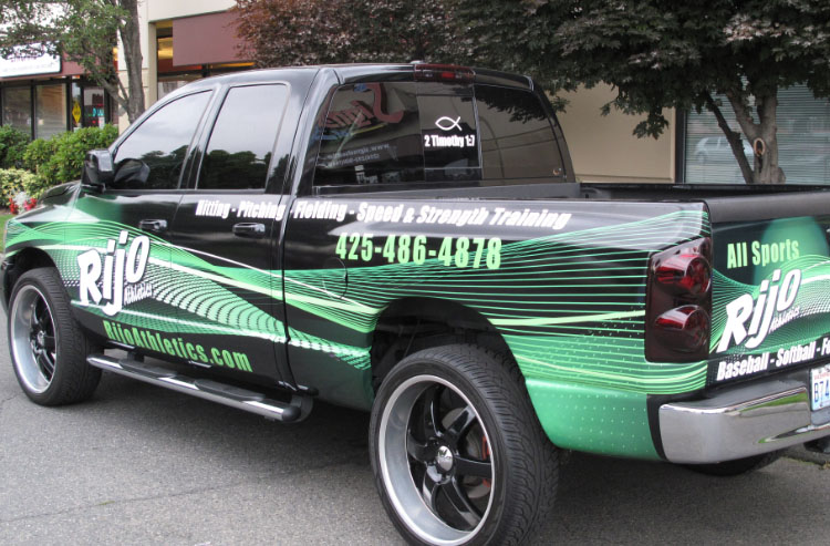 Truck Graphics Signs Of Seattle - Custom graphics for trucks