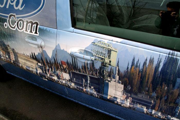 Custom Van Graphics Seattle