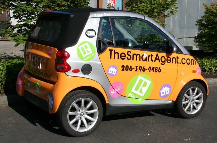 Smart Car Seattle: Any Vehicle -Signs Of Seattle