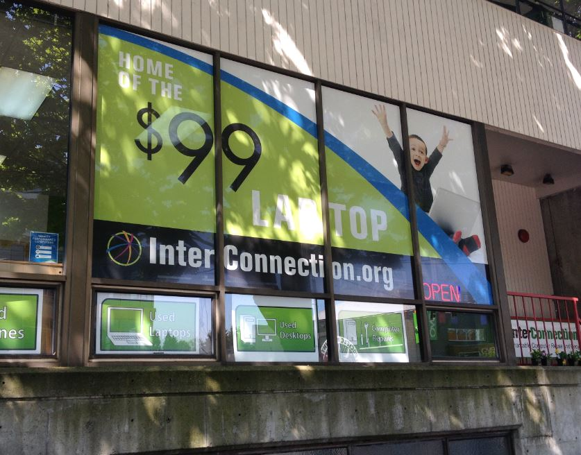 Custom Window Decal Graphics Signs Of Seattle
