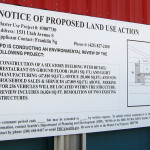 Land Use Sign Permit