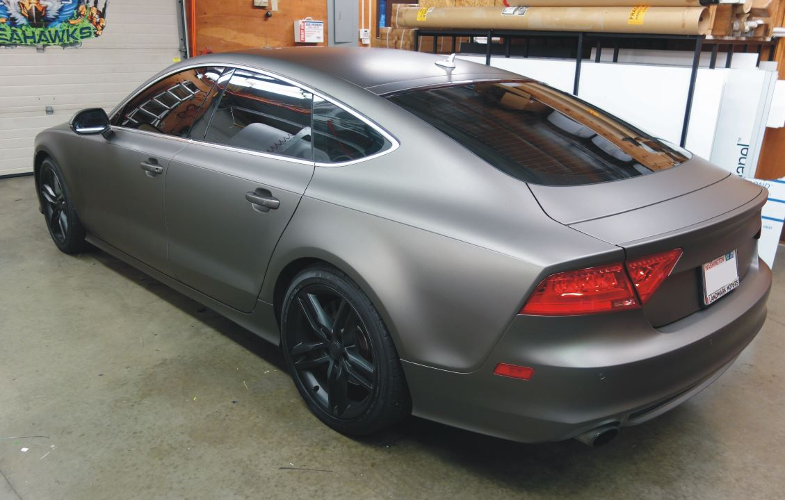 Matte Vinyl Wraps And Graphics From Signs Of Seattle