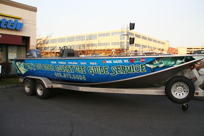 Boat Wrap Graphics