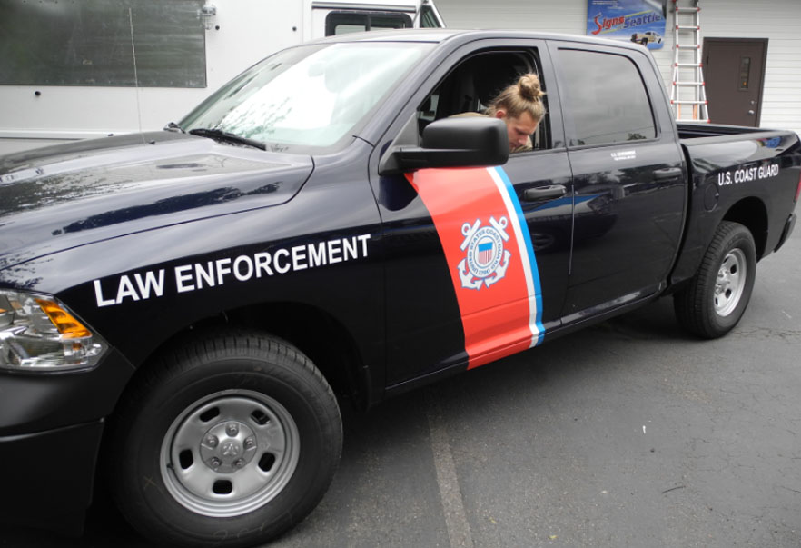 Emergency Vehicle Graphics EMS, Law Enforcement