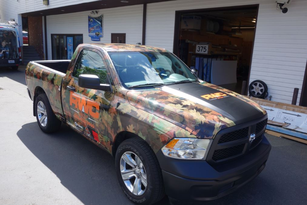 Truck Wrap Vinyl Graphics We Do It All Signs Of Seattle