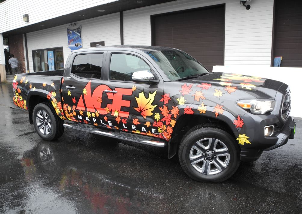 Truck Wraps And Vinyl Graphics Signs Of Seattle Vehicle Graphics