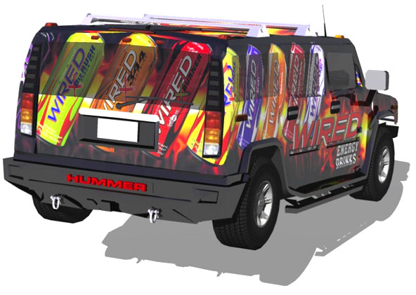 Custom Vinyl Truck Graphics