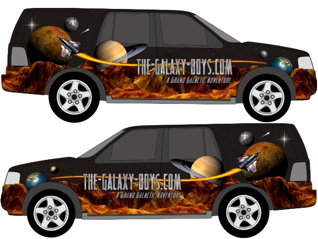 Custom Graphic Design for Autos