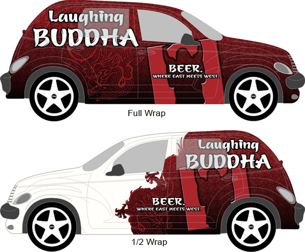 Auto Graphics Vinyl Wrap