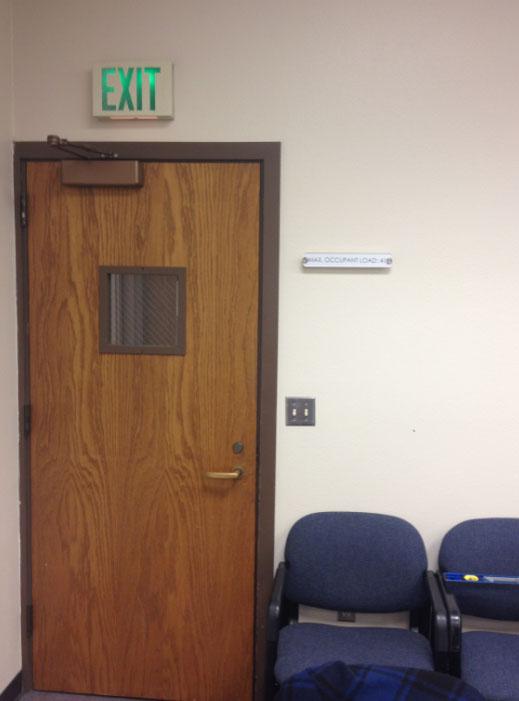 door signs - signs of seattle