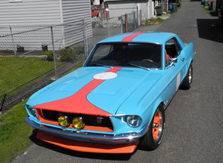 68 Mustang Graphics