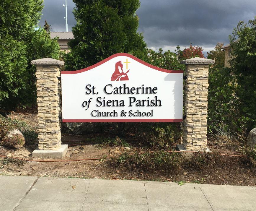 Neighborhood or Church Monument Sign