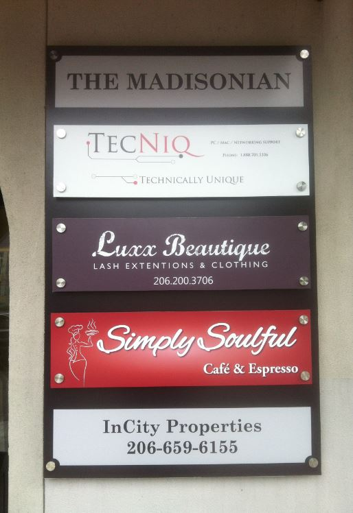 Directory Sign Outdoor