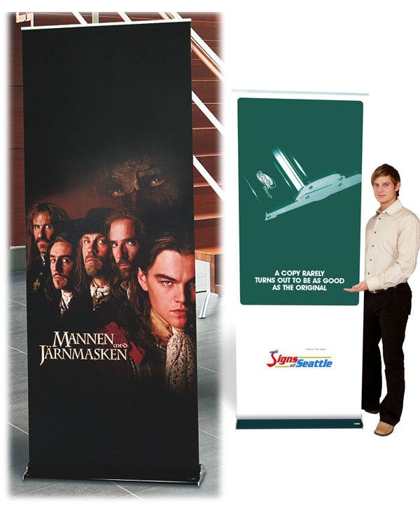 Folding Banner Stand Graphic