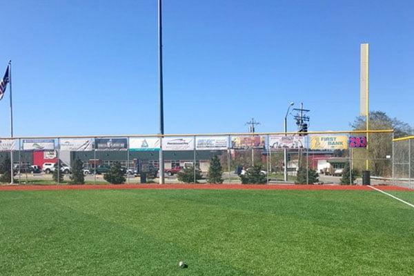 Ball Field Banner