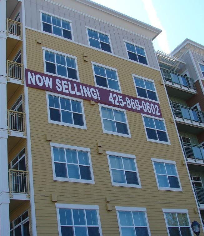 Building Sign Banner