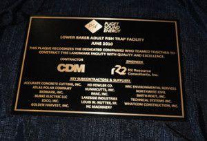 Cast Bronze or Aluminum Plaque
