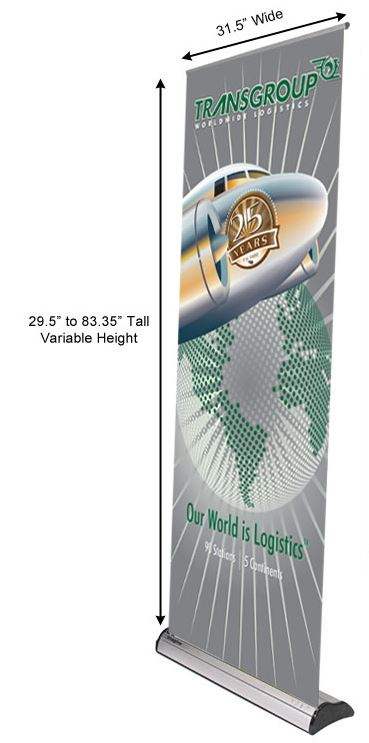 Dealmaker Banner Stand