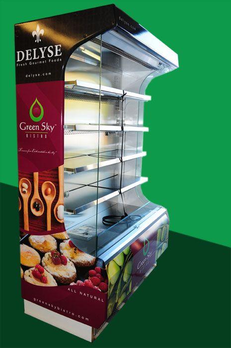 Refrigerator Wrap Graphics
