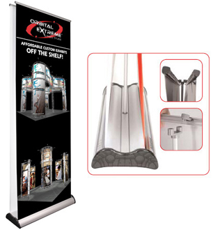 Folding Banner Stand Double Sided