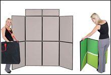 Folding 8 Panel Display