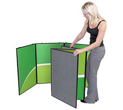 8 Panel Folding Display