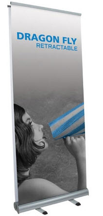 Budget Double Sided Retractable Banner