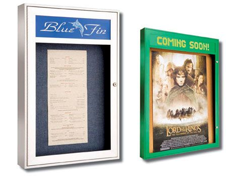 Directory Sign & Case