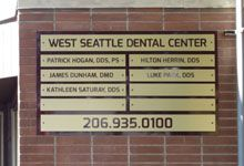 Outdoor Tenant Directory Sign