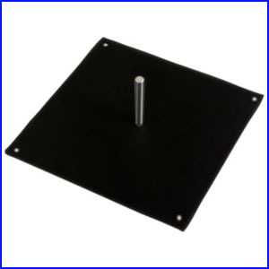 Steel Square Base (Use with Ring Fill-able Base: Recommended)