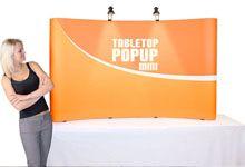 Tabletop Popup Display