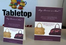 Table Tent Display