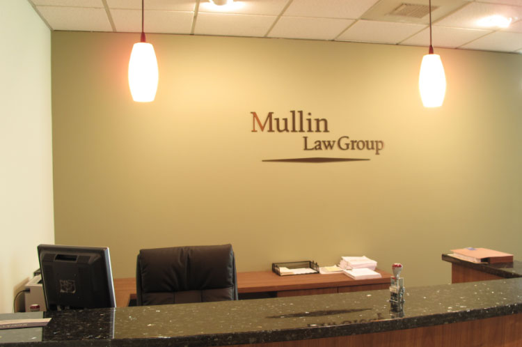 Metal Law Office Sign