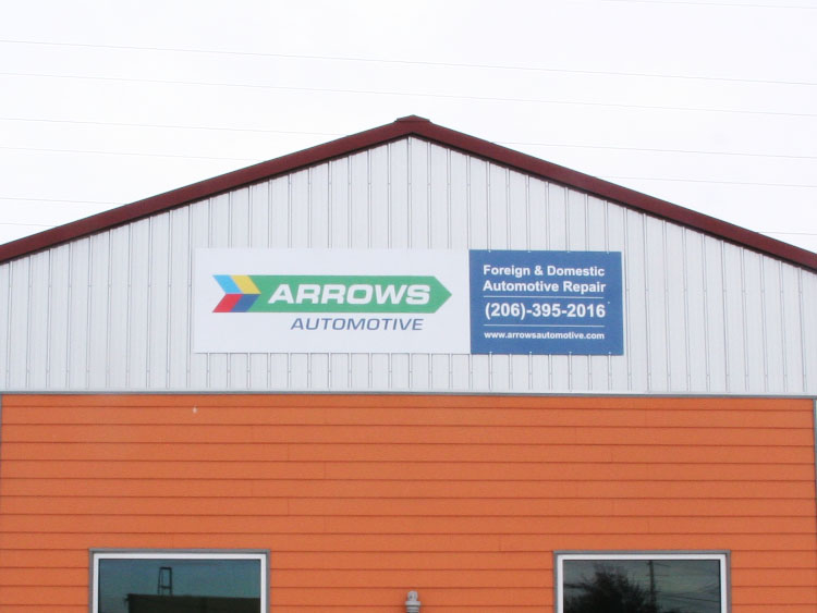 Business Exterior Sign