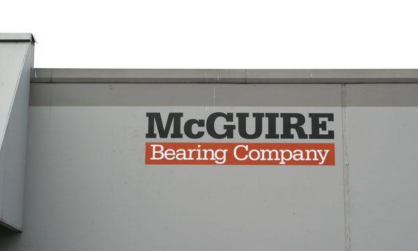 Cut Vinyl Building Sign