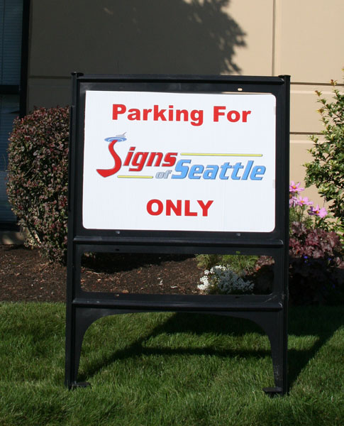 Plastic Real Estate Sign