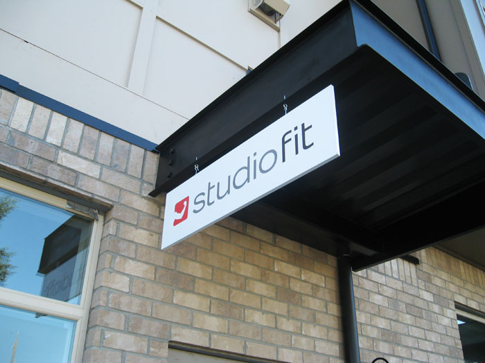 Building Blade Sign Graphics