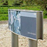 Post to Pylon Sign