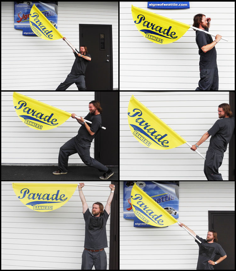 Seattle Parade Banner