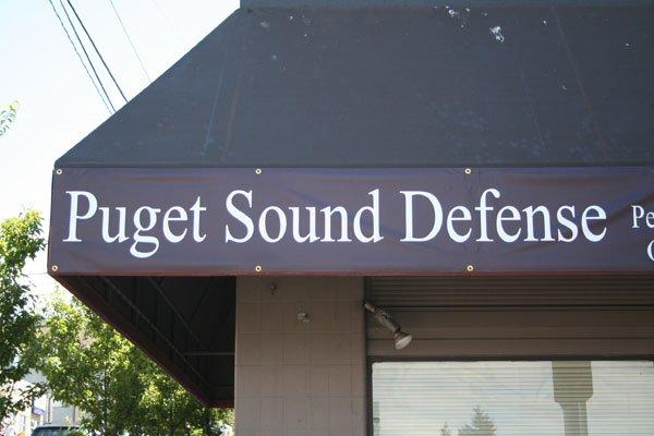 Awning Vinyl Banner