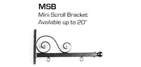 Mini Scroll Bracket