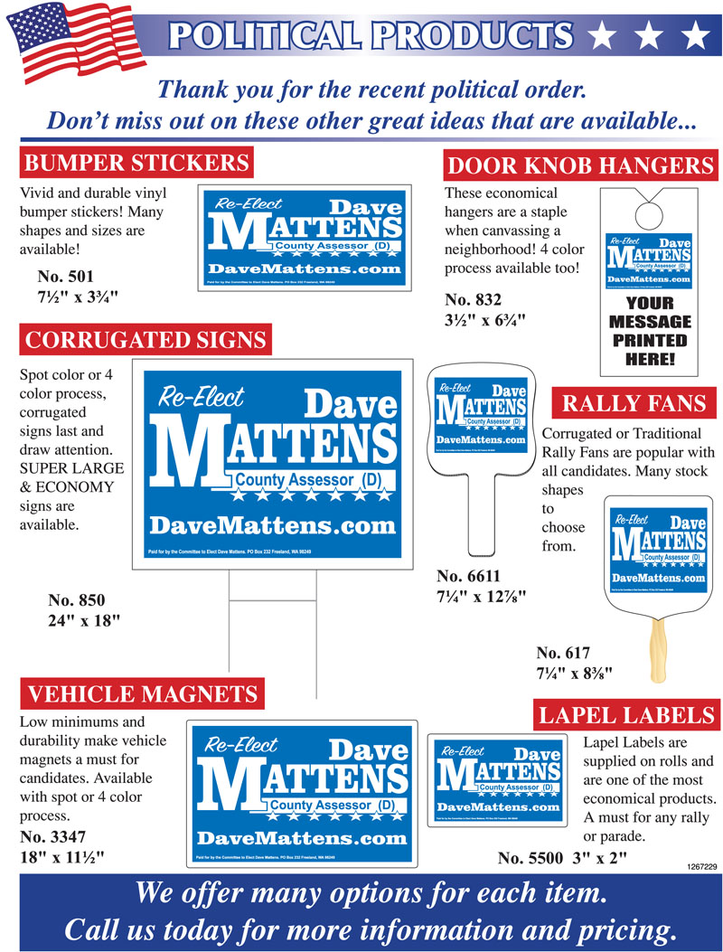 Political Products